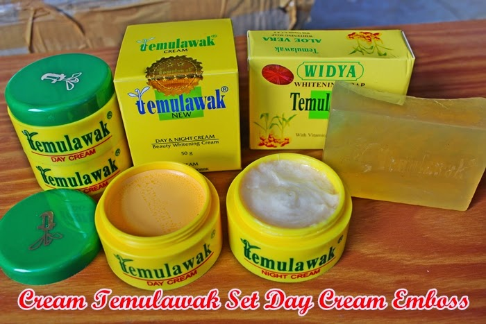 Cream Temulawak Embos